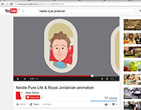 Nestle and Royal Jordanian Voice Over