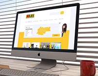 Real Estate Agency ABS - Website Layout