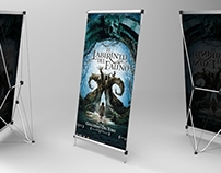 Tensile Poster Stand