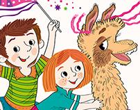 Illustration to magazine for children.