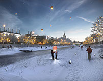 Moscow riverfront transform