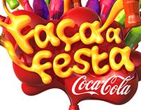 COCA-COLA - FAÇA A FESTA