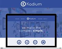 Kadium Website Design