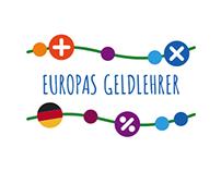 European Money Teacher logo and website design