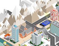 Network Rail Isometric World