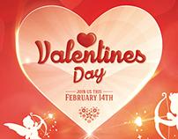 Valentines Day - Flyer