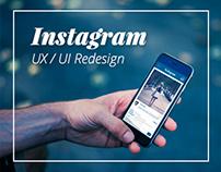 Instagram UI & UX Redesign