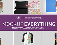 MockupEverything.com Apparel & Product Mockup PSDs