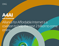A4AI – Alliance for Affordable Internet Branding