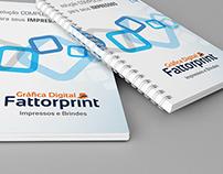 Identidade Visual Fattorprint - Gráfica Digital