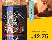 Faxe Royal Export 1L - Wine.com.br