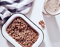 · homemade granola ·