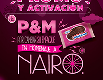Aviso revista P&M Chocoramo