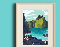 Travel Poster Illustration-Colours.