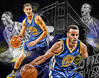 Steph Curry and Klay Thompson