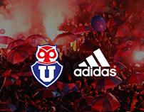 La victoria nos une                 U De Chile \ adidas