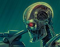 Terminator Genisys Long Poster