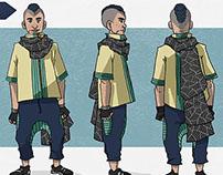 Visual Development: Character Final Look