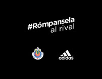 Chivas / Adidas. #Rómpansela.