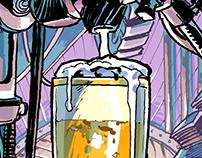 Wbeer - Beverage Coaster - Pilsner