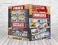 Food Truck Company Menu