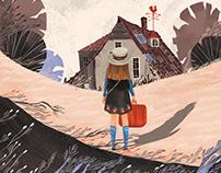Cover illustrations for Eva series