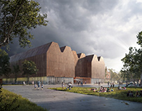 New Library in Rostock | Nieto Sobejano