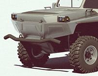 Light Rescue Amphibious Vehicle