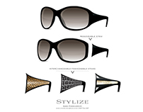 Stylize - Fashion Eyewear Prototype Illustration & Logo