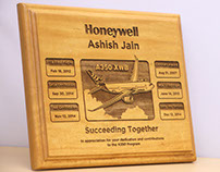 Deep-engraved Wooden Plaques