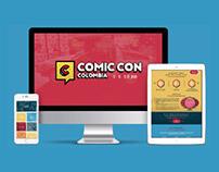 Comicon Colombia - Sitio web