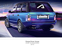 Range Rover Vouge Illustration