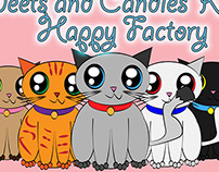 .   Sweets and Kittens Happy Factory