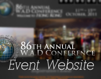 W.A.D. 86th Annual Conference - Event Website (2011)