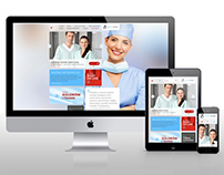 Medicstar responsive website & e-shop