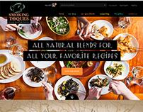 Smoking Toques | e-Commerce Website Design