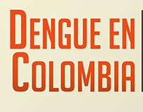 Carátula del libro: Dengue en Colombia