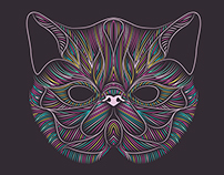 Exotic Shorthair - Cat Illustration