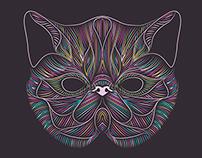 Exotic Shorthair - Cat Illustration