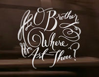 O Brother Where Art Thou? Film Title Redesign