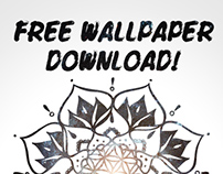 Namaste Nebula Wallpaper :: Free Download!
