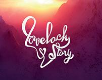 Love lock web design