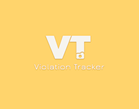 Violation Tracker Web & App Design