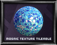 Mosaic Tileable Texture