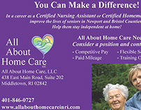 All About Home Care Postcard