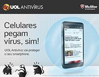 UOL Antivírus - Landing Pages e E-mails
