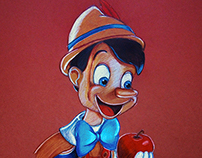 Pinocchio, The Wooden Boy