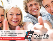You and Me - Language Center