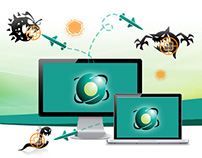 BOL Antivírus - Landing Page e E-mails