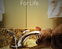 Delta Faucets Magazine Ad Series